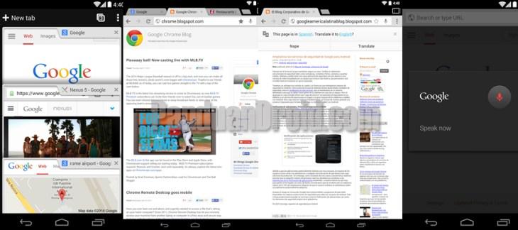 Update Google Chrome Untuk Adroid dengan Fitur FullScreen
