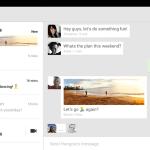 Hangouts, Aplikasi SMS, Google