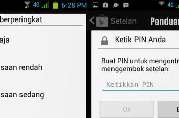 Play Store, PIN, Aplikasi