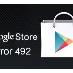 Play Store, error 492, Download Error