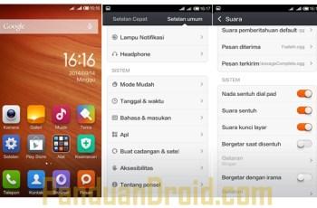 Xiaomi Redmi 1S, Xiaomi, cara menonaktifkan Getar
