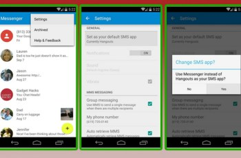 Android L, Download APK, Messenger