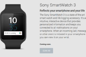 Sony, SmartWatch, Sony SmartWatch 3,