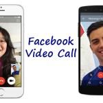 FB, Facebook, Video Call, Facebook Messenger