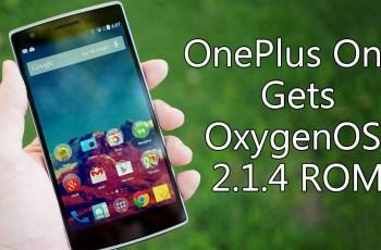 OnePlus One ,Update OxygenOS 2.1.4