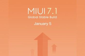 Xiaomi , MIUI 7.1