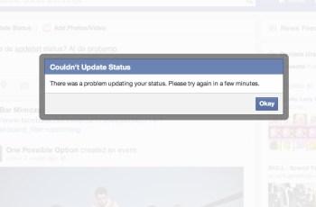 Mengatasi Facebook Error