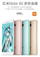 Ini Harga yang di Patok untuk Xiaomi Redmi Note 4X Special Edition Hatsune Miku