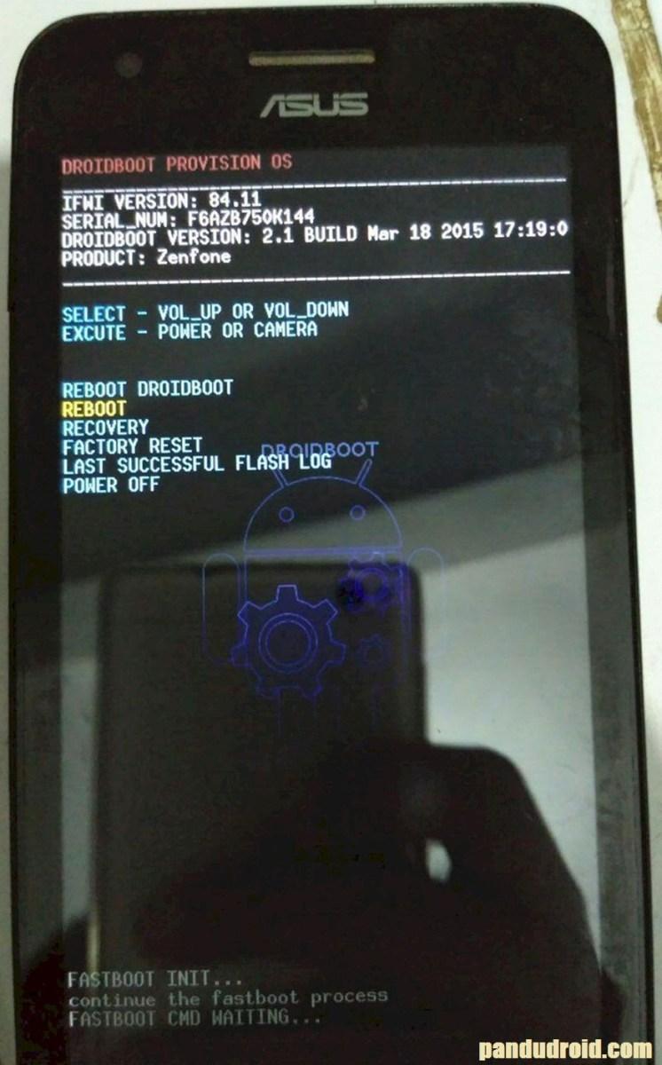Cara Mengatasi Asus Zenfone C Bootloop/Blank Logo Via Asus Flash Tool