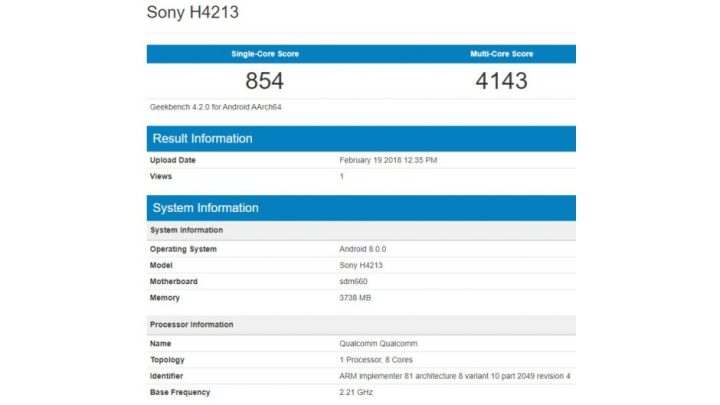Sony H4213