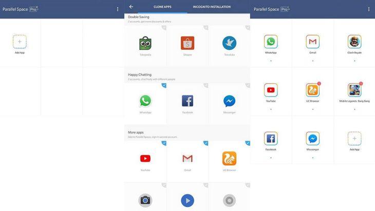cara install dua whatsapp di satu android