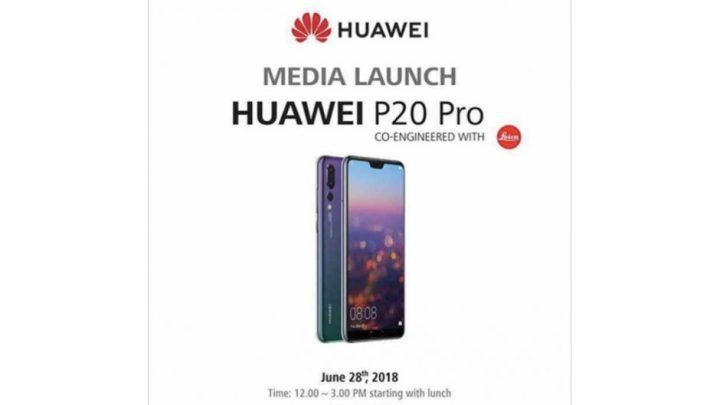 Huawei P20 Pro Undangan