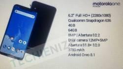 Motorola One Power Kembali Siapkan Smartphone Dengan Layar 6,2 Inci FHD+