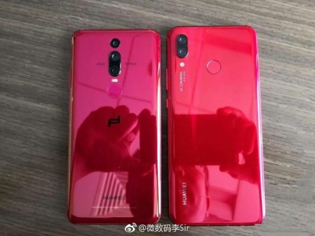 Huawei Nova 3 Acacia Red Edition bocoran