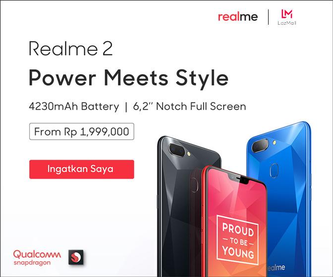 Harga Realme 2 di Indonesia