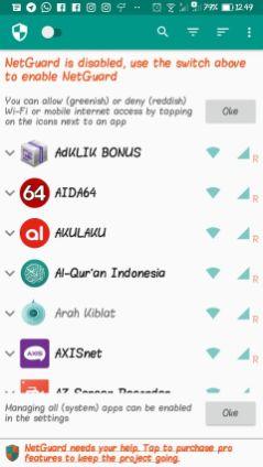 Blokir Akses Internet 1