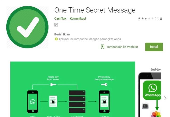 Pesan Berwaktu di WhatsApp Android 1