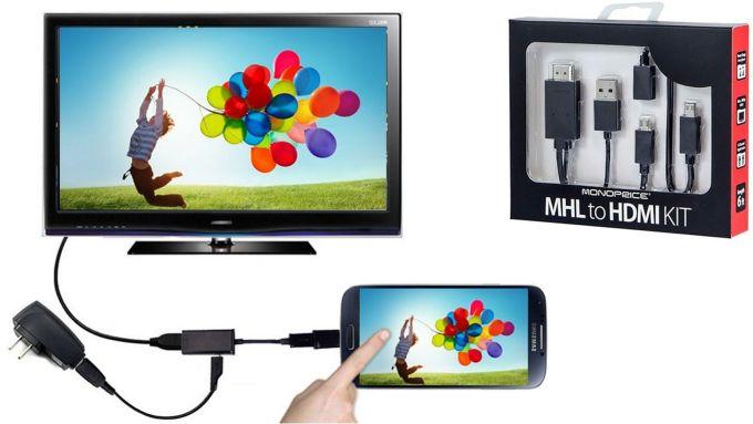Trik Jitu Menghubungkan Smartphone ke TV Tanpa Kabel