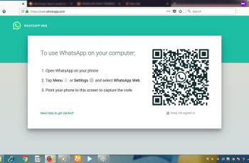 Cara Mudah Membuka WhatsApp Web