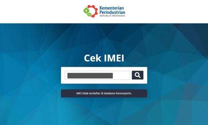 Cek IMEI Smartphone