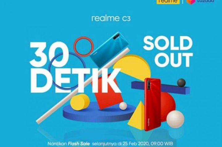 Flash Sale Realme C3