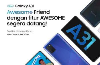 Flash Sale Samsung Galaxy A31