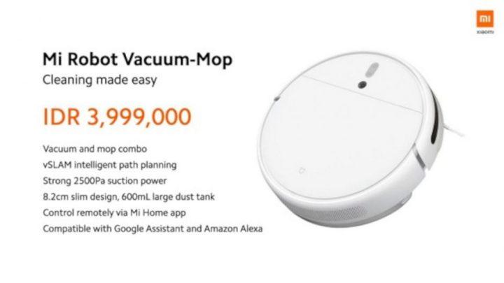 Mi Robot Vacuum Mop Resmi Dirilis