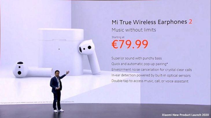 Xiaomi Luncurkan Mi True Wireless Earphones 2