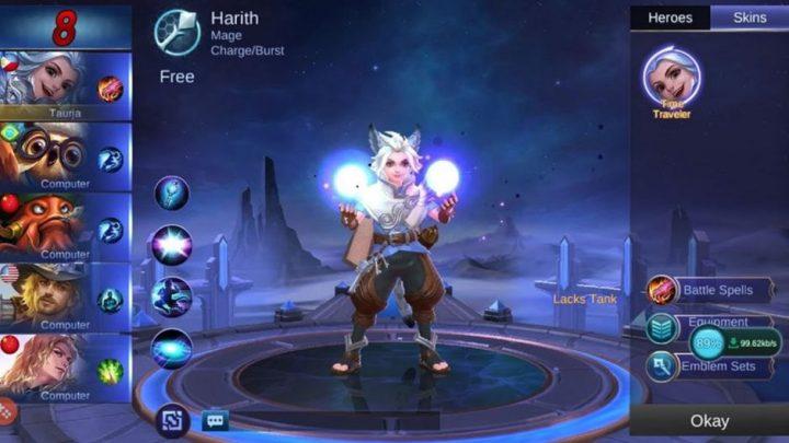Hero Mage Harith