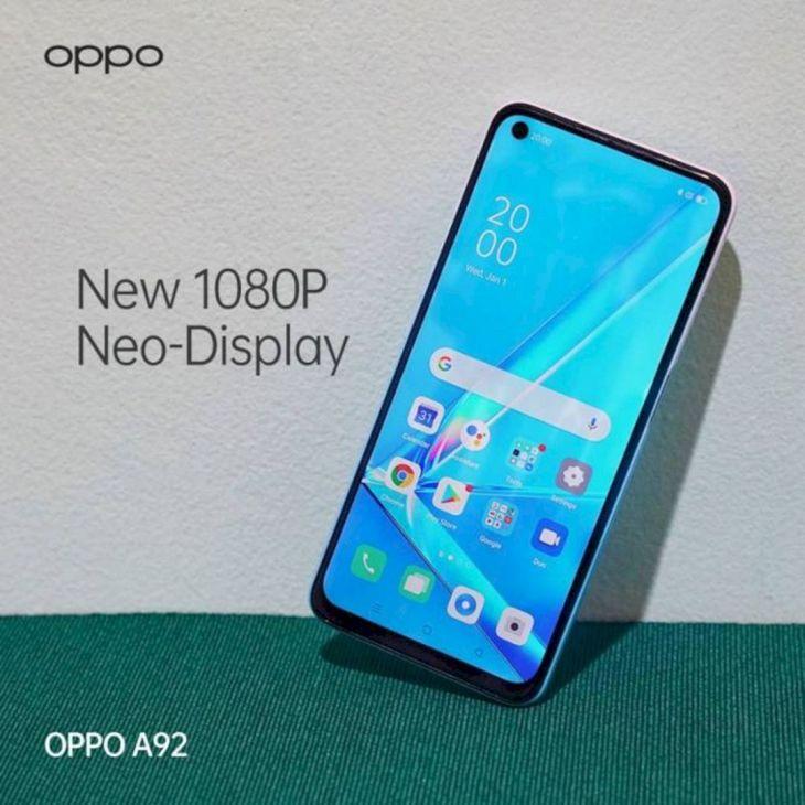Manfaat Layar Neo Display OPPO A92