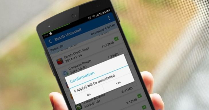 Unistall Aplikasi Yang Tidak Digunakan
