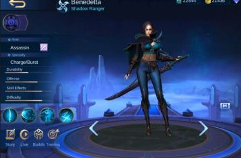 Hero Benedetta Mobile Legends