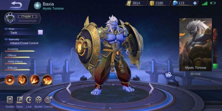 Hero Baxia Mobile Legends