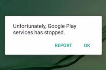 Memperbaiki Google Play Services has stopped
