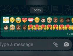 Pembaruan WhatsApp Hadirkan Emoji Baru, Berikut Cara Menggunakannya!