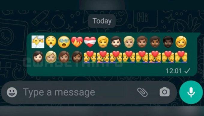 Pembaruan Emoji Baru WhatsApp