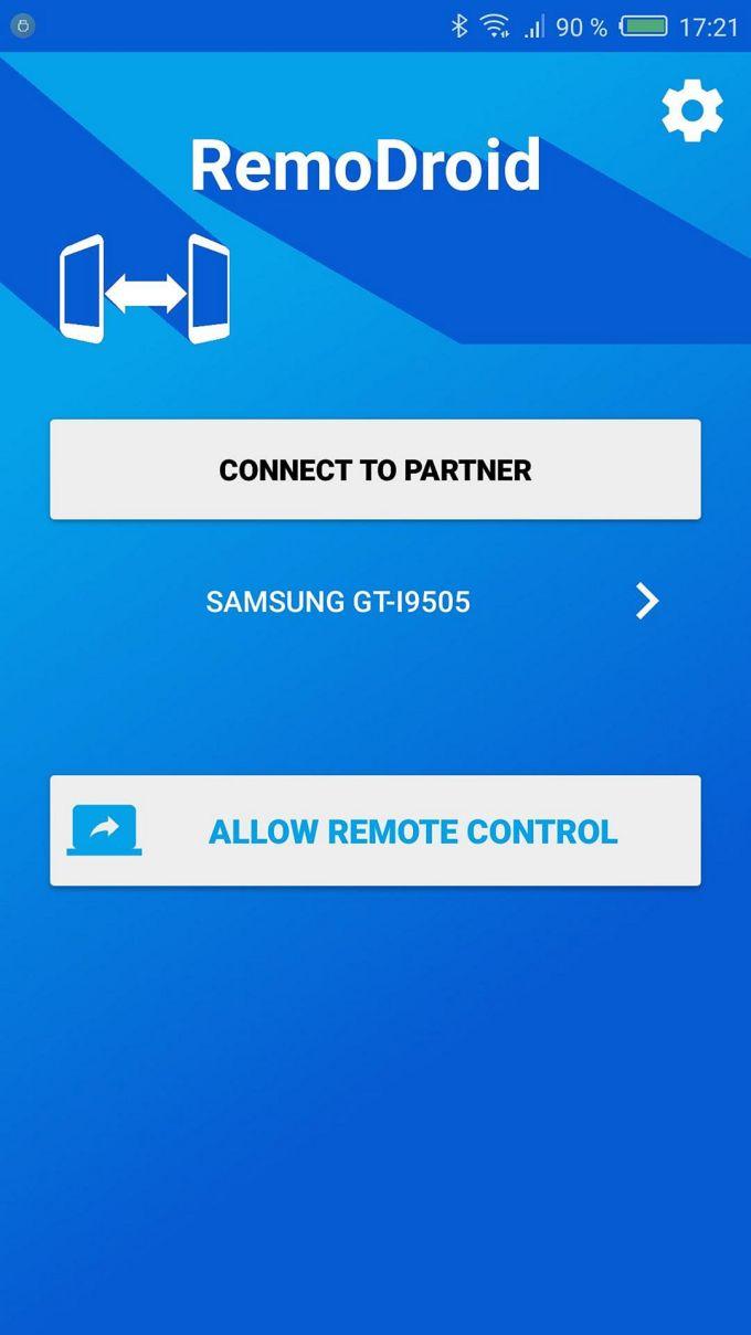 Aplikasi Remote RemoDroid