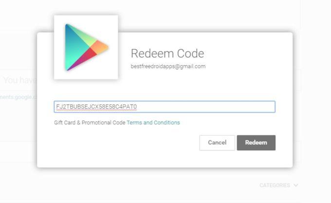 Cara Mudah Reedem Kode Voucher Google Play Store