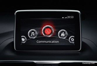 MZD Connect Touchscreen