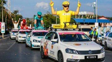 Vokswagwen Malaysia Penaja Rasmi Le Tour De Langkawi 2016