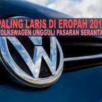 10 kereta paling laris di Eropah 2015