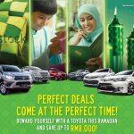 WOW, Toyota Tawar Rebat Tunai Hingga RM10,500, Termasuk Duit Raya!!!