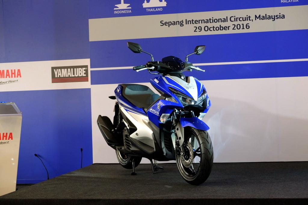 Harga dan Spesifikasi Penuh Yamaha NVX 155 Untuk Pasaran Malaysia