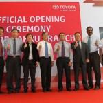Bilik Pameran Baharu Toyota Di Johor Bahru - Tampil Konsep Next Generation Toyota Showroom