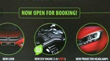 Perodua Axia facelift
