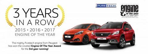 Enjin PureTech 1.2L Dinobat Sebagai Engine of the Year 2017 Kategori 1.0L - 1.4L 2017.03