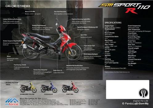 brosur SM Sport 110R