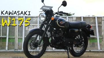 Kawasaki W175, Lagi Model Baharu Retro-Moden Masuk Pasaran Indonesia