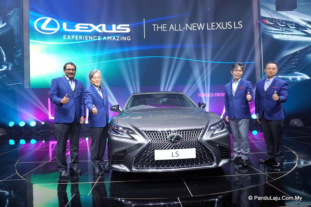 Lexus LS 500 Malaysia
