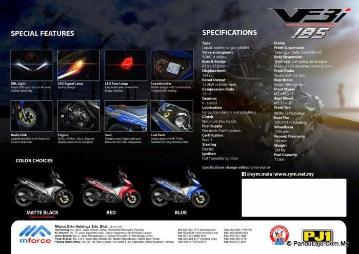 SYM Super Moped VF3i